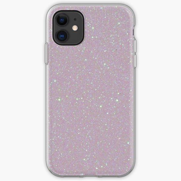 Pearl Opalescent Glitter June Birthstone iPhone Soft Case
