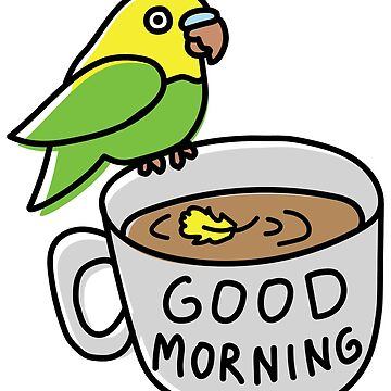 Good Morning Coffee Birb by BountifulBean