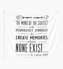 The Infinite Starter Remastered (Black) Wall Tapestry