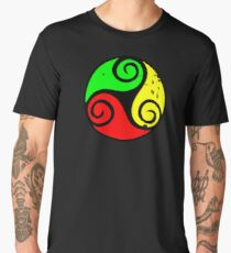 Reggae Flag Chilling Vibes - Cool Reggae Flag Colors Gifts Men's Premium T-Shirt