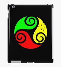 Reggae Flag Chilling Vibes - Cool Reggae Flag Colors Gifts iPad Case/Skin