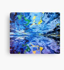 Abstract Landscape 548 Canvas Print
