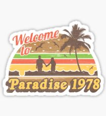 Cheesburger In Paradise 1978 Sticker