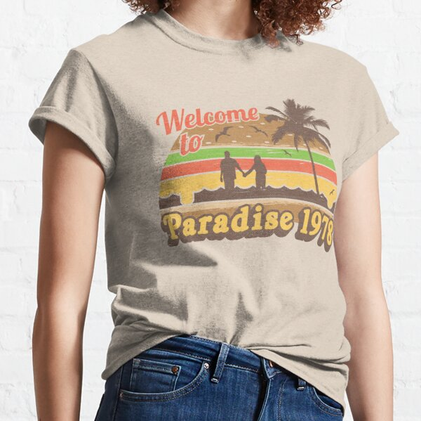 Cheesburger In Paradise 1978 Classic T-Shirt