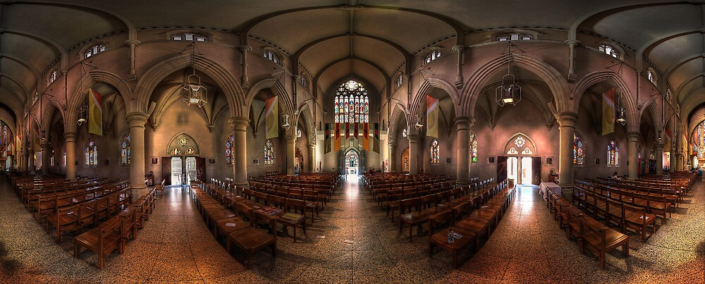 St. Stephen's Cathedral, Brisbane. by David James