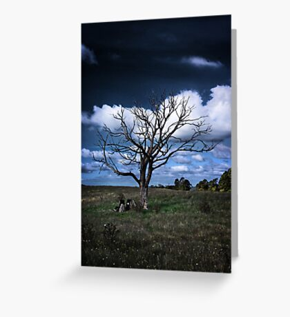 Shadow of the Day Greeting Card