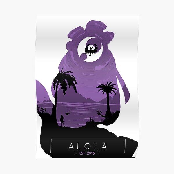 Alola Region- Moon Version. Poster
