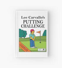 Lee Carvano's Putting Challenge  Hardcover Journal
