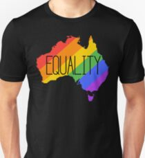 equality gay australia T-Shirt