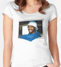 BROCKHAMPTON Saturation 2 Album Cover Women's Fitted Scoop T-Shirt