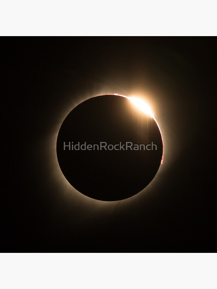 2017 Solar Eclipse - Diamond Ring by HiddenRockRanch