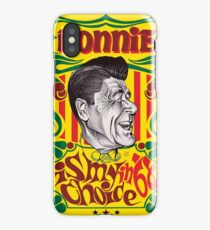 Ronald Reagan 1968 Campaign Poster - Ronnie Is My Choice in 68 iPhone Case/Skin