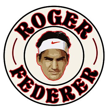 Roger Federer Badge by davisluna15