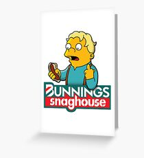 Bunnings Snaghouse  Greeting Card