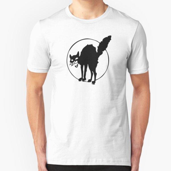 Anarchist Black Cat Slim Fit T-Shirt