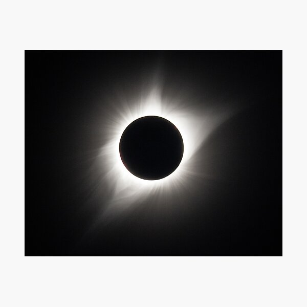 2017 Solar Eclipse - Totality Photographic Print
