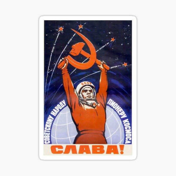 Communist CCCP Poster Sticker