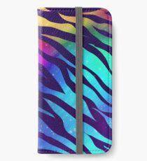 Color Burst Zebra iPhone Wallet/Case/Skin