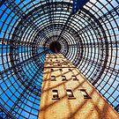 The Shot Tower in Melbourne Australia by Adam Calaitzis