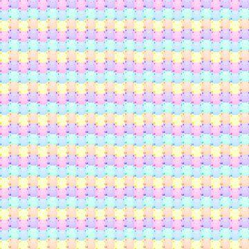 Rainbow Kitties, So Many! by BountifulBean