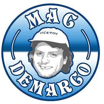 Mac Demarco Badge by davisluna15