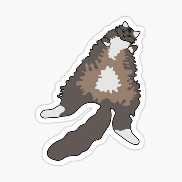 Gros chat Sticker