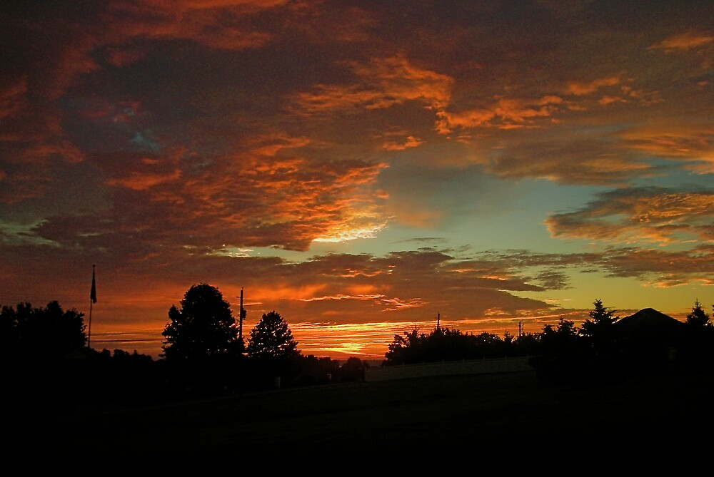 Sunrise, July 24th 2008 by Jim Caldwell
