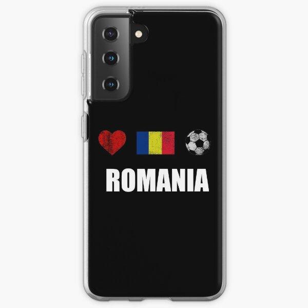 Romania Football Shirt - Romania Soccer Jersey Samsung Galaxy Soft Case