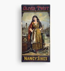 Performing Arts Posters Oliver Twist Nancy Sikes 2906 Canvas Print