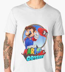 Super Mario Odyssey - Mario Art Men's Premium T-Shirt
