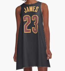LeBron James Jersey A-Line Dress
