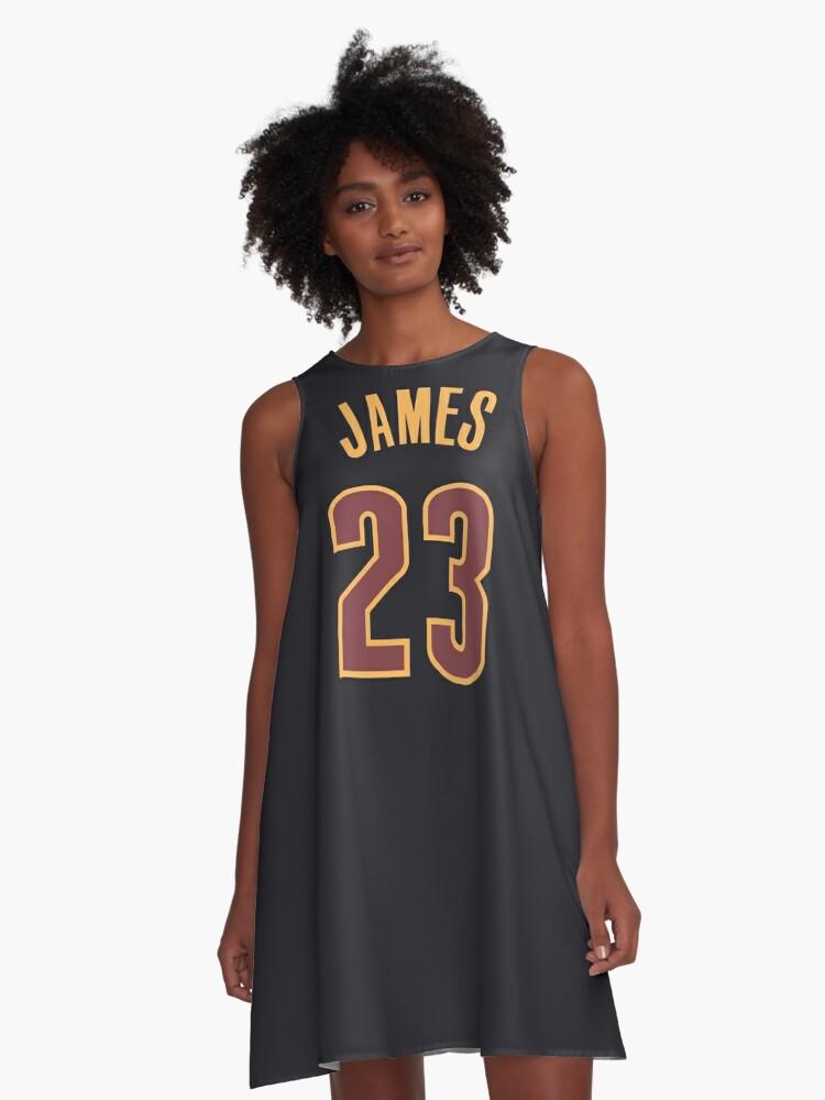 lebron james jersey dress