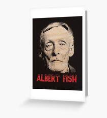 Albert Fish Greeting Card