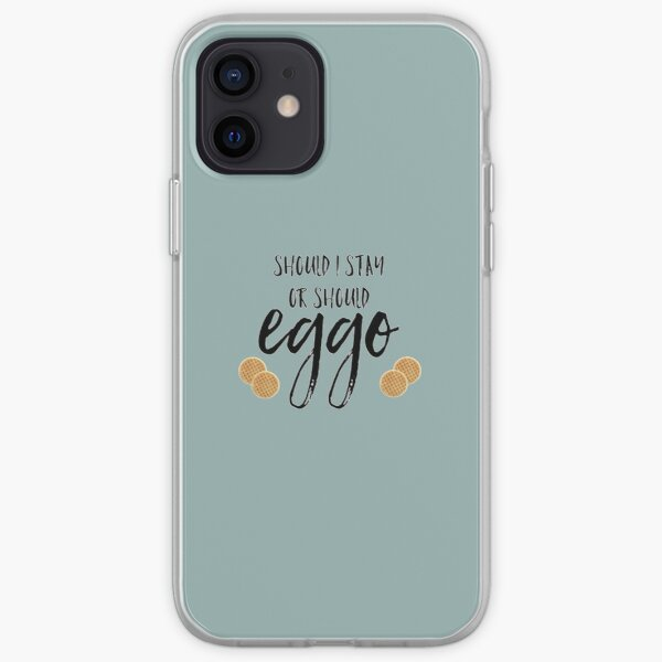 should I stay or should eggo? iPhone Soft Case