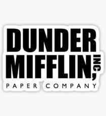 Dunder Mifflin Corporate Logo Sticker