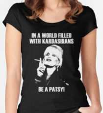 be a patsy Women's Fitted Scoop T-Shirt