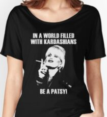 be a patsy Women's Relaxed Fit T-Shirt