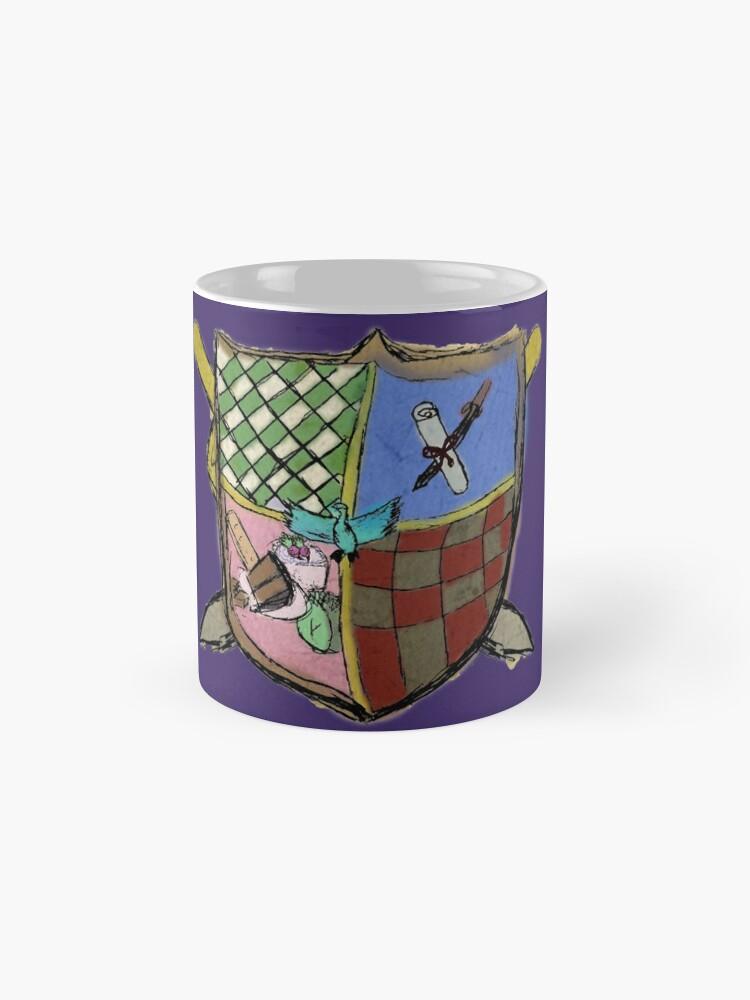 Alternate view of Kooky Coat of Arms Mug