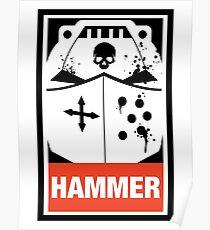 Wir sind der Hammer Wargaming Meme Poster
