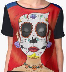 Blusa Sugar Skull Under the Sea * REDONE *