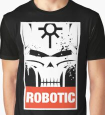 Warhammer 40k Inspired Necrons - Necron Robotic Graphic T-Shirt