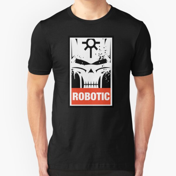 Inspired Necrons - Necron Robotic Slim Fit T-Shirt