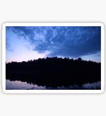 Lake Sunset Sticker