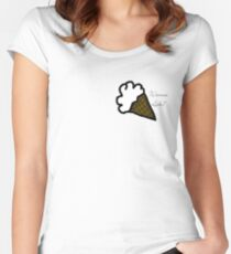 Wanna Lick? Women's Fitted Scoop T-Shirt