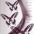 monarch wings take me back by Lisa Hildwine