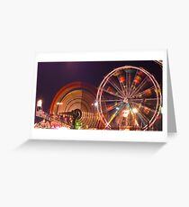 SPIN SPIN Greeting Card
