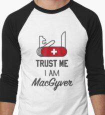 MacGyver Men's Baseball ¾ T-Shirt