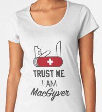 MacGyver Premium Scoop T-Shirt