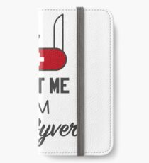 MacGyver iPhone Wallet/Case/Skin