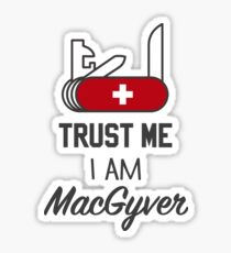 MacGyver Sticker